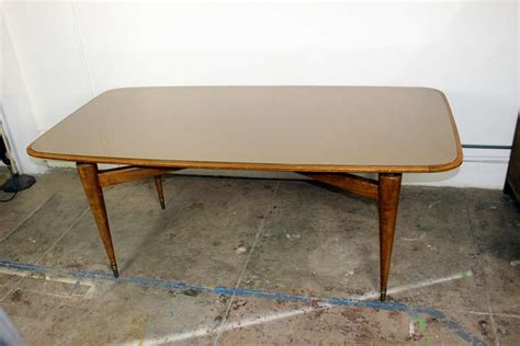 italian dining room table in style of gio ponti at 1stdibs