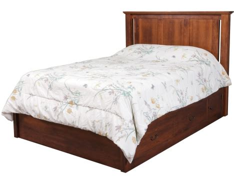 elegance pedestal bed w 60 quot wide drawers daniel s