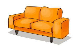 Sofa Drawing by How To Draw A Sofa Drawingnow