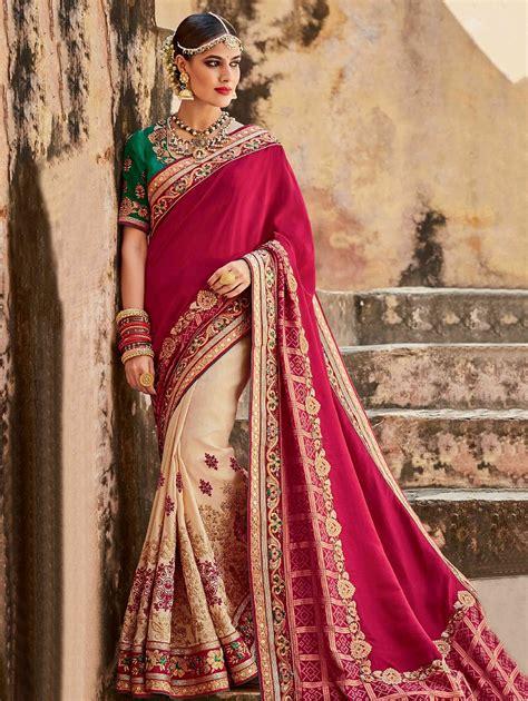 Wedding News by Indian Wedding Saree Designs Trends 2018 2019