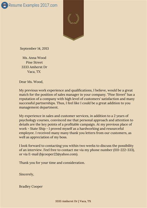 nursing cover letters