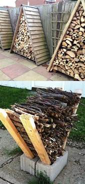 15 creative firewood rack and storage ideas a of