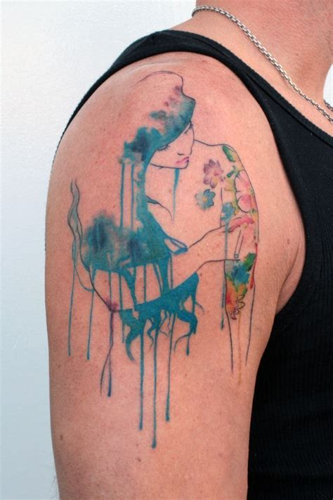 tattoo ink dripping 46 brilliant watercolor tattoos my next tattoo