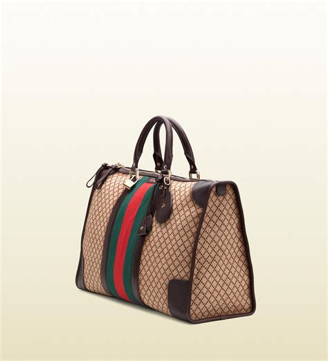 A Letter For A Gucci Bag by Lyst Gucci Signature Web Diamante Duffle Bag For