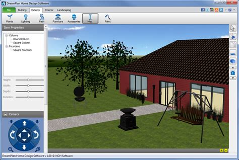 home landscaping design software free dreamplan home design software download