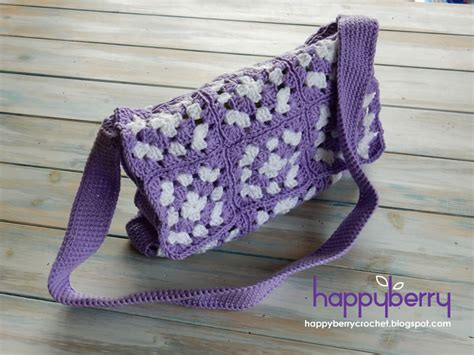 crochet afghan bag pattern happy berry crochet what is a mile a minute granny