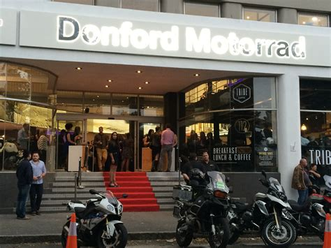 Bmw Motorrad Donford Cape Town by Donford Bmw Motorrad Opens Flagship Lifestyle Showroom In
