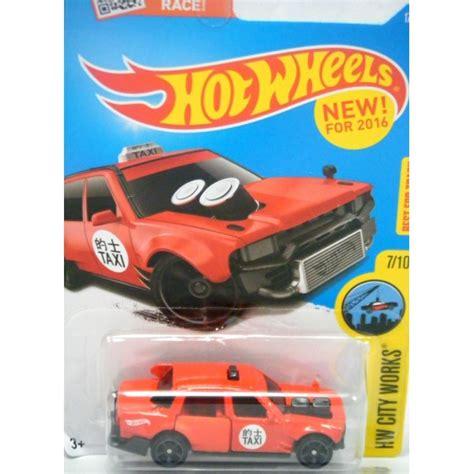 Hotwheels Wheels Time Attaxi Berkualitas Wheels New Models Series Time Attaxi Drift Car