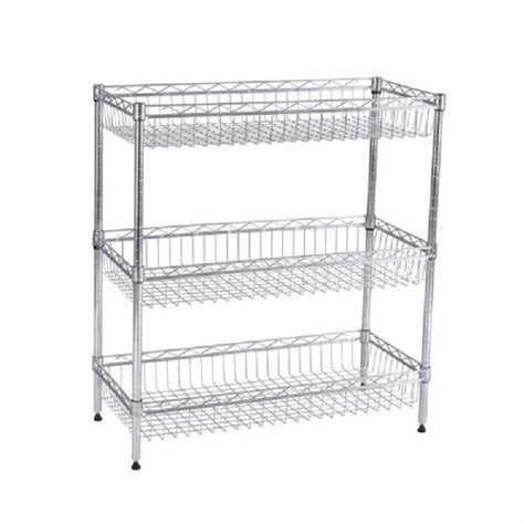 wire basket shelving system metal shelving storage system tools and hardware store