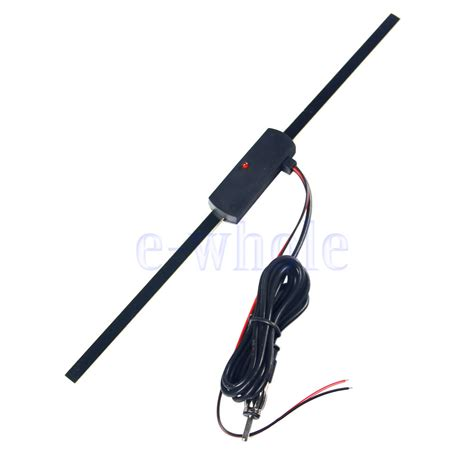 car auto electronic windshield radio am fm lified antenna aerial tw ebay