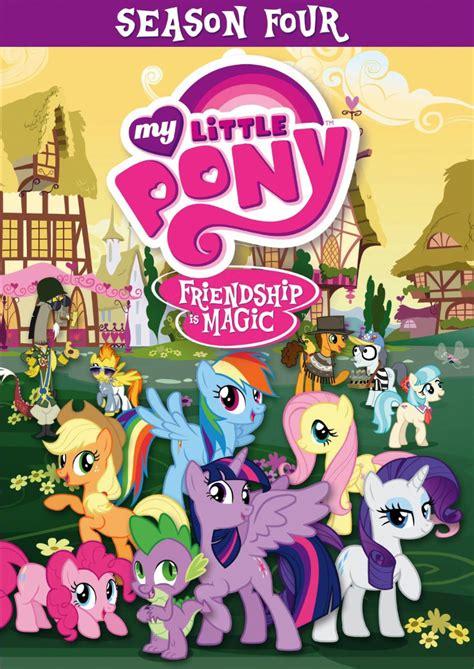 Film Mlp 4 | my little pony season 4 available on dvd mlp merch