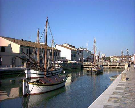 cesenatico porto canale panoramio photo of cesenatico fc porto canale