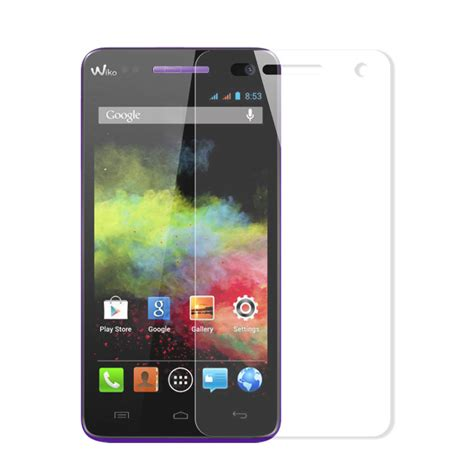 Tempered Glass Anti Gores Kaca Wiko Rainbow gehard glas screen protector h 230 rdet glas sk 230 rmbeskytter for wiko rainbow