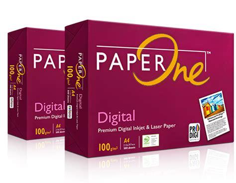 Kertas Hvs Paper One A480 Gram harga kertas presentasi a4 100 gr paper one