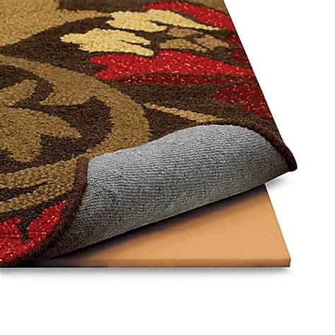 mohawk memory foam rug pad memory foam rug pads bed bath beyond
