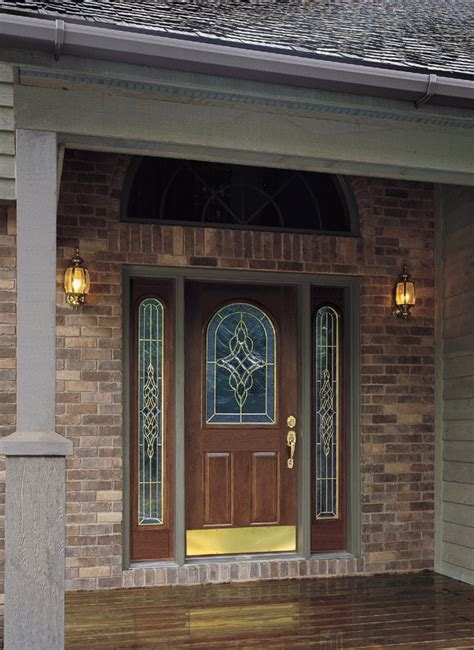 Door Sidelight Glass 22 Best Images About Front Doors On Kick Plate