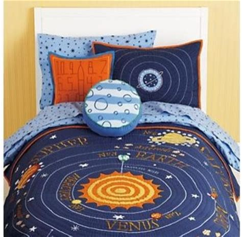 Solar System Crib Bedding Blue Solar System Bedding Contemporary Bedding By The Land Of Nod