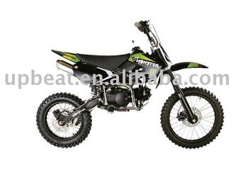 Dirt Bike 125ccm Aufkleber 125cc dirt bike kawasaki design monster sticker 17 14 big
