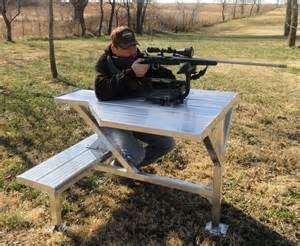 shooting bench rest plans best 25 portable shooting bench ideas on pinterest