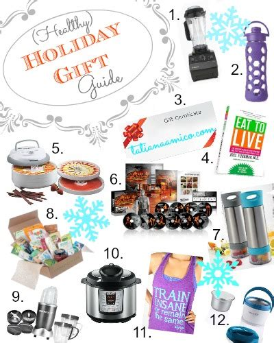 healthy holiday gift guide 12 gift ideas for the health