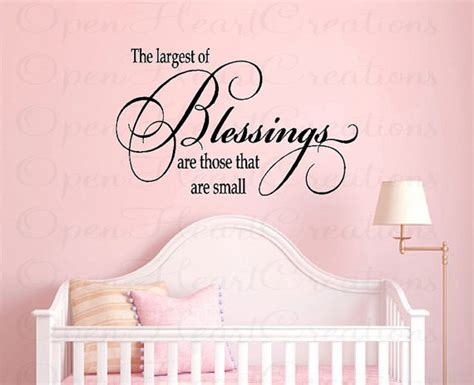 Nursery Wall Decal Quotes Nursery Wall Quotes Baby Nursery Vinyl Wall Decals Baby