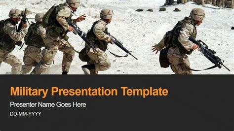 Military Army Armed Forces Powerpoint Background Slidemodel Army Powerpoint Backgrounds