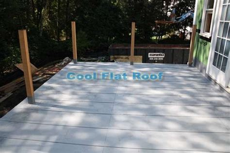 How to Build a Flat Roof Over a Deck   RoofingPost
