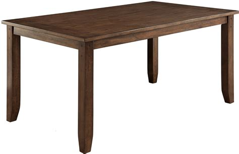 brockton i rustic oak rectangular dining table cm3355t