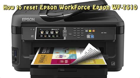 reset counter epson l200 youtube reset epson wf 7610 waste ink pad counter youtube