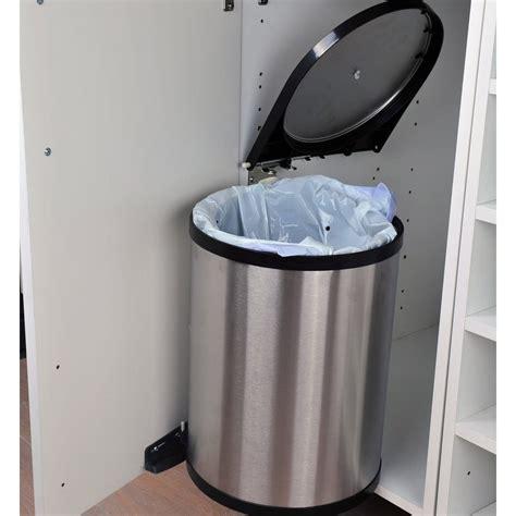 poubelle cuisine sous evier poubelle de cuisine sous evier brico depot cuisine