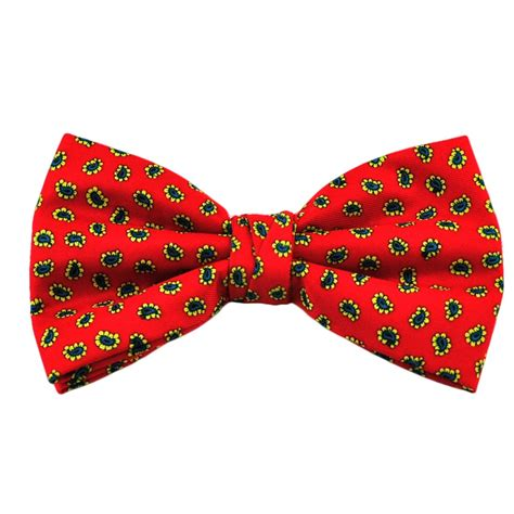 Patterned Bow Tie by Black Patterned Bow Tie From Ties Planet Uk
