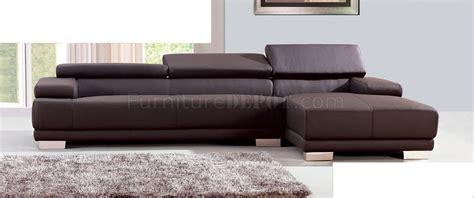 Sofa Melody chocolate leather sofa monteverdi tufted