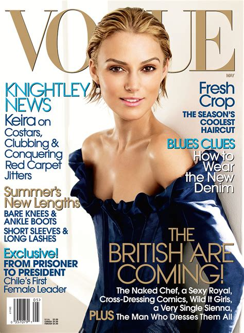 Do You Like Keira Knightly On September Vogue Cover by The Vogue Cover Who Never Lets Us A Beautiful