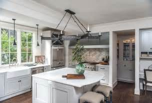 Built In Kitchen Islands With Seating by Gray Kitchen Island With Curved Marble Countertop