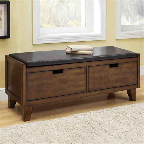 seated storage bench home furniture design