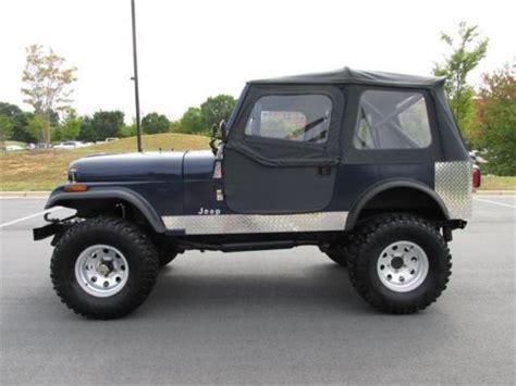 Best Jeep Lift Kits Purchase Used 1983 Jeep Cj 7 Cj7 Lift Kit New Tires New