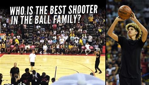 how do lamelo ball s skills compare to his older brothers lonzo and lamelo ball shows off his 3 point touch in a shooting
