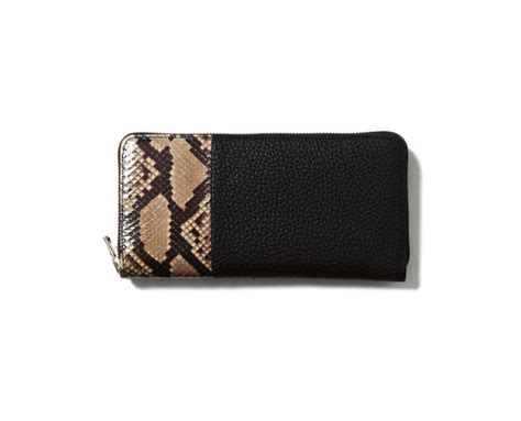 Leather Belt Python Brown Dot Leather experiment product python wallet