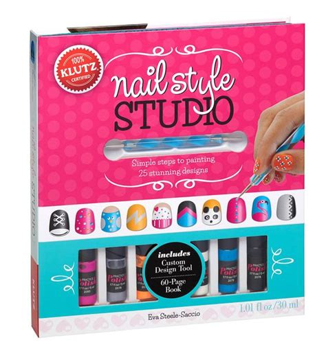 Klutz Hair Style Book by Klutz Nail Style Studio Book Kit Cool Stuff For