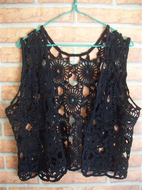 fotos de chalecos tejidos chalecos modernos tejidos a crochet imagui