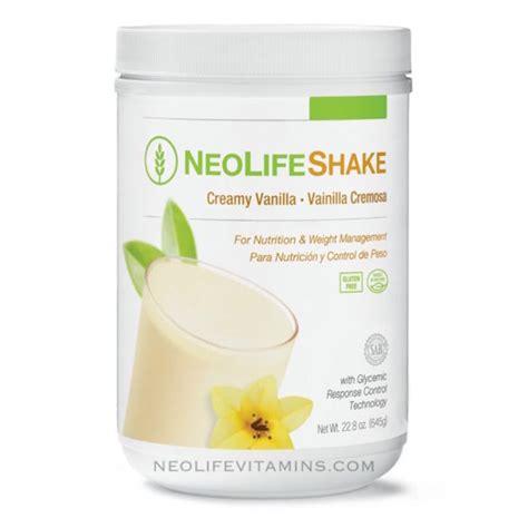 Neolife Detox Reviews by Neolifeshake Vanilla Protein Can Neolife Vitamins