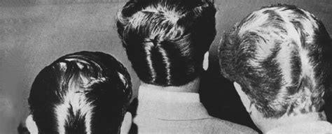 Ducktail Hairstyle by Ducktail Haircut For 30 Ducks Hairstyles