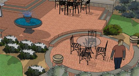 patio layouts and designs patio shapes and layouts