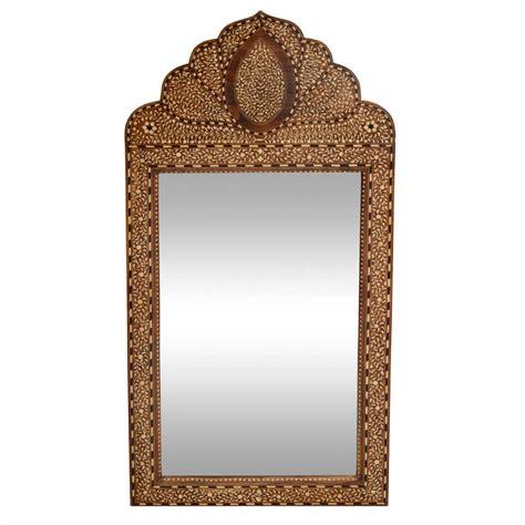 bone inlay mirror moroccan bone inlay mirror