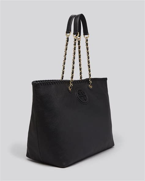 Burch Marion East West Tote Black burch tote marion east west in black lyst