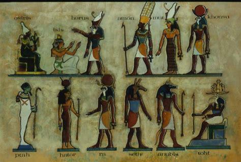 imagenes de figuras egipcias image gallery dioses egipcios