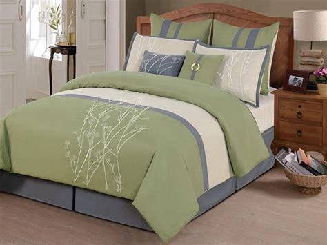sage bedding 8 pc taylor comforter set sage multiple sizes