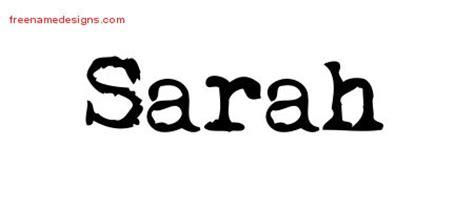 tattoo name sarah vintage writer name tattoo designs sarah free lettering