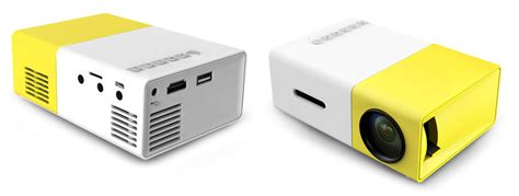 Mini Projector Led Luxeon yg 300 lcd mini 1080p portable led projector home cinema equipment us yellow white tmart