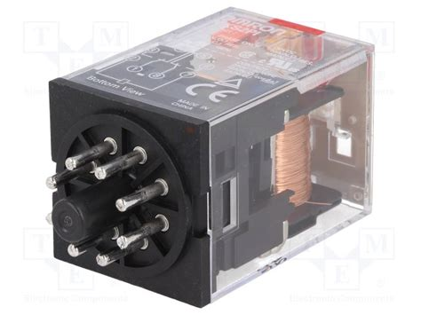 Relay Mks2p 8kaki 24vdc 10a Original Omron ly4n d2 24vdc omron relay electromagnetic 4pdt ucoil 24vdc 10a 110vac 10a 24vdcly4n d2